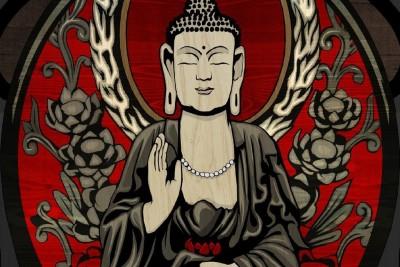 Go Hooked Meditation Poster Paper Print