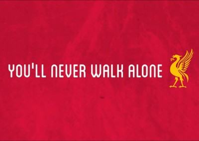 You,Ll Never Walk Alone - Liverpool Fc A3 NON TEARABLE High Quality Printed Poster - Wall Art Print (Size : 11.7 x 16.5) , For Bedroom , Living Room, Kitchen, Office, Room Paper Print