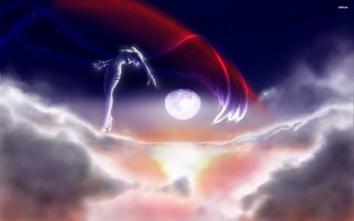 Neon Genesis Evangelion angel in the sky Athah Fine Quality Poster Paper Print
