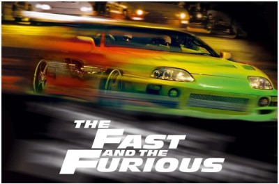 Athah - The Fast And The Furious Paper Print Rolled Paper Print