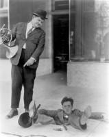 Laurel & Hardy Fine Art Print(28.89 inch X 23 inch)