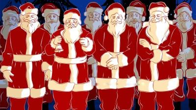 Santa Claus Poster Paper Print