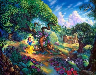 Movie Snow White Disney HD Wall Poster Paper Print