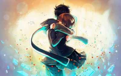 Animate Boy Girl A3 HD Poster Art PSI3671 Photographic Paper