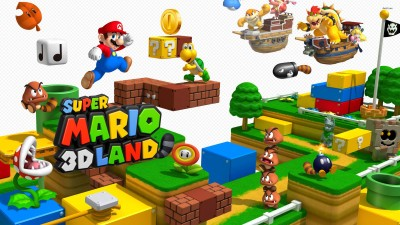 Super Mario 3D Land Athah Fine Quality Poster Paper Print