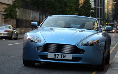 Athah Aston Martin V8 Vantage Poster Paper Print