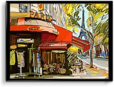 Best Street Corner Shop Canvas Art