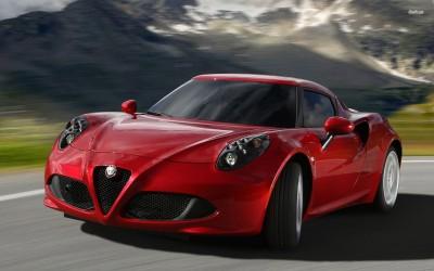 Athah 2013 Alfa Romeo 4C Poster Paper Print