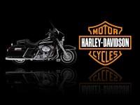 Printelligent Harley davidson poster - 10178 Paper Print