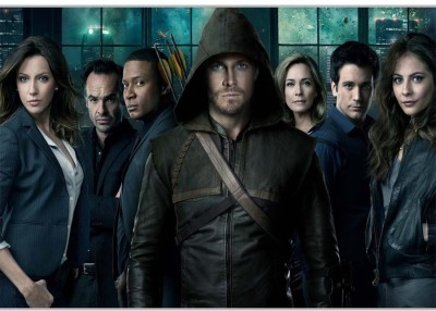 Arrow Characters Poster (18 x 12 Inches) by Shopkeeda Paper Print