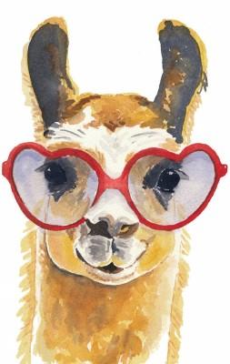 Tallenge Art For Kids - Fancy Camel - A3 Size Rolled Poster For Kids Room Decor Paper Print