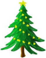 Tallenge Christmas Collection - Christmas Tree Art - Framed Photo Print For Gifting And Home And Office Décor On Photographic Paper(12 inch X 12 inch best price on Flipkart @ Rs. 1749
