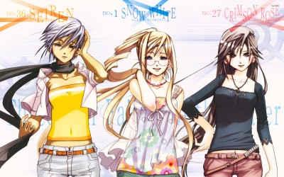 Athena, Alicia and Akira in Aria Athah Fine Quality Poster Paper Print