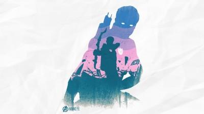 Avengers The Avengers Hawkeye Frameless Fine Quality Poster Paper Print