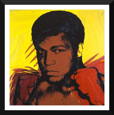 Muhammad Ali Serigraph And Screen Prints #1 by Andy Warhol - Premium Quality A3 Size Framed Poster Paper Print