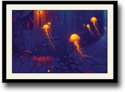 Jellyfish artwork Fine Art Print