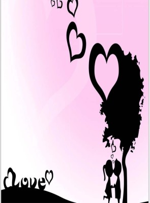 Lovely Kiss Poster (12 x 18 Inches) by Shopkeeda Paper Print