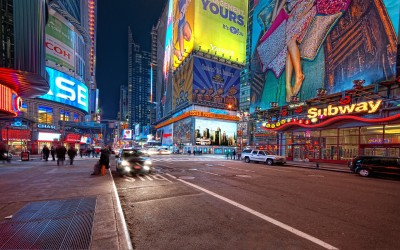 Times Square A3 HD Poster Art PNCA26078 Photographic Paper