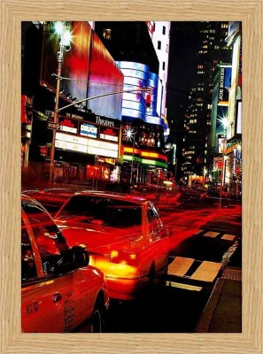 NYC times Square Framed Poster Fine Art Print