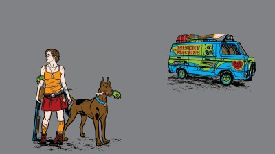 Scooby-doo HD Wall Poster Paper Print