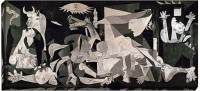 Athah Poster Guernica by Pablo Picasso Paper Print(18 inch X 12 inch, Rolled)