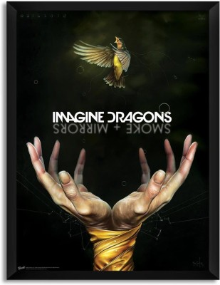 Imagine Dragons Smoke Mirrors (Officially Licensed) Framed Paper Print