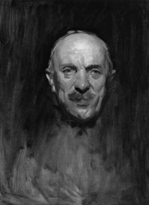 Sir Henry Hughes Wilson, Bt by John Singer Sargent (Medium) Paper Print