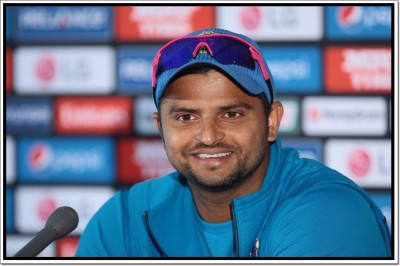 Suresh Raina Indian Cricket Player Poster Paper Print