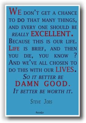 PosterGuy Steve Jobs Quote