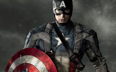 Movie Captain America: The First Avenger Captain America Chris Evans Superhero Marvel HD Wall Poster Paper Print