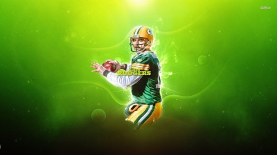 Aaron Rodgers Athah Fine Quality Poster Paper Print