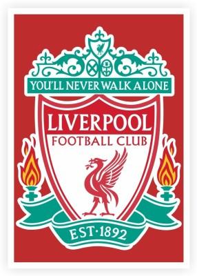 Liverpool Football Club Logo Paper Print