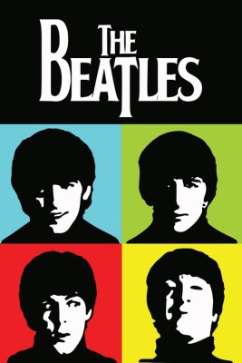 Athah Fine Quality Poster sk The Beatles Pop Paper Print