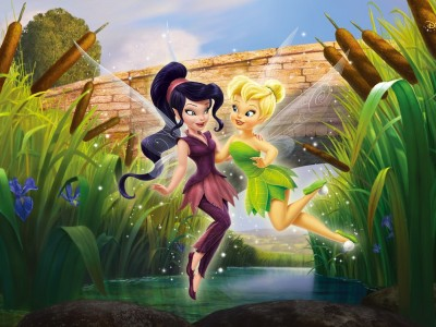 Tinker Bell Cartoon A3 HD Poster Art shi5145 Photographic Paper