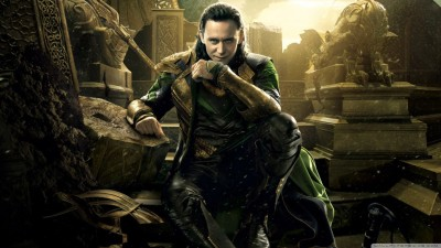 Movie Thor: The Dark World Thor Loki HD Wall Poster Paper Print