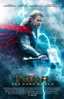 Athah Thor The Dark World Poster Paper Print