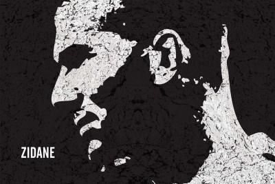 Posterhouzz Zinedine Zidane Paper Print