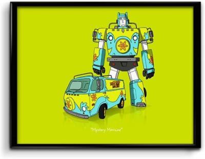 Scooby Dooby Doo,Transformer Impression Canvas Art