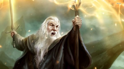 Gandalf - Guardians of Middle-earth Athah Fine Quality Poster Paper Print