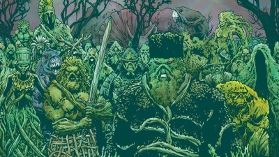 Swamp Thing HD Wall Poster Paper Print