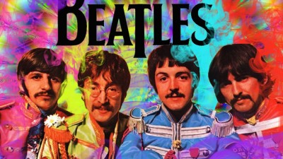 Music The Beatles Band (Music) United Kingdom Artistic Colors Colorful HD Wall Poster Paper Print