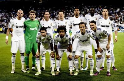 Real Madrid FC (A) Da Vinci Canvas Art