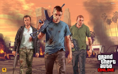 Grand Theft Auto V Athah Fine Quality Poster Paper Print
