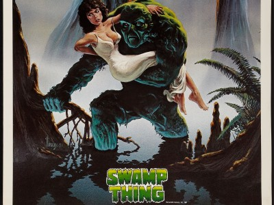 Movie Swamp Thing HD Wall Poster Paper Print