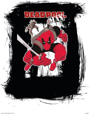 Deadpool Max (Officially Licensed) poster Paper Print