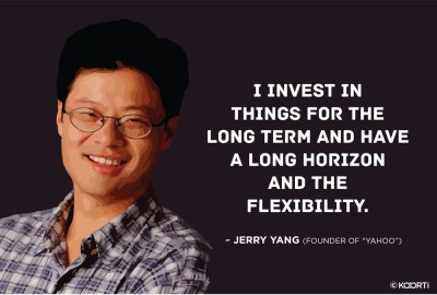 KAARTI I Invest In things For The Long Term - Jerry Yang (Large) Jumbo Poster Paper Print