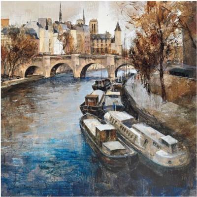 Montage - Notre-Dame, Paris Fine Art Print