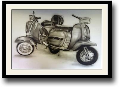 Vintage Scooters Fine Art Print