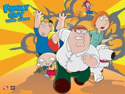Wall Poster TVShow Family Guy Stewie Griffin Brian Griffin Peter Griffin Lois Griffin Chris Griffin Meg Griffin Paper Print