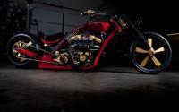 AnanyaDesigns Wall Poster Custom Harley Davidson Bikes Paper Print(12 inch X 18 inch, Rolled)